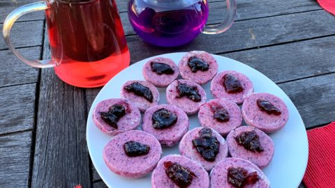 Purple Yam Cookies