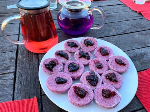 Purple Yam Cookies