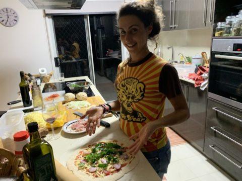 PIZZA FATTA IN CASA (HOME MADE PIZZA)