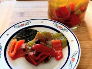 Preserving Vegetable – Capsicum Pickle