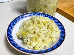 Homemade Sauerkraut Recipe – Very Easy